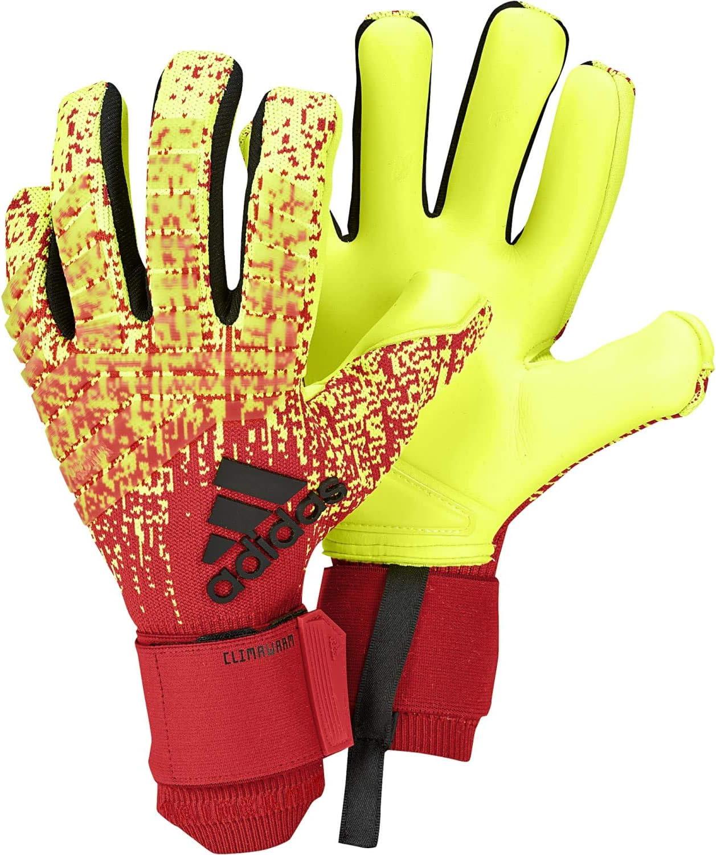 Fabricación Acostado Bajar  Amazon.com : adidas Predator PRO Climawarm Goalkeeper Gloves Warm Hands on  Cold Days Goalkeeping Gloves for Soccer : Sports & Outdoors