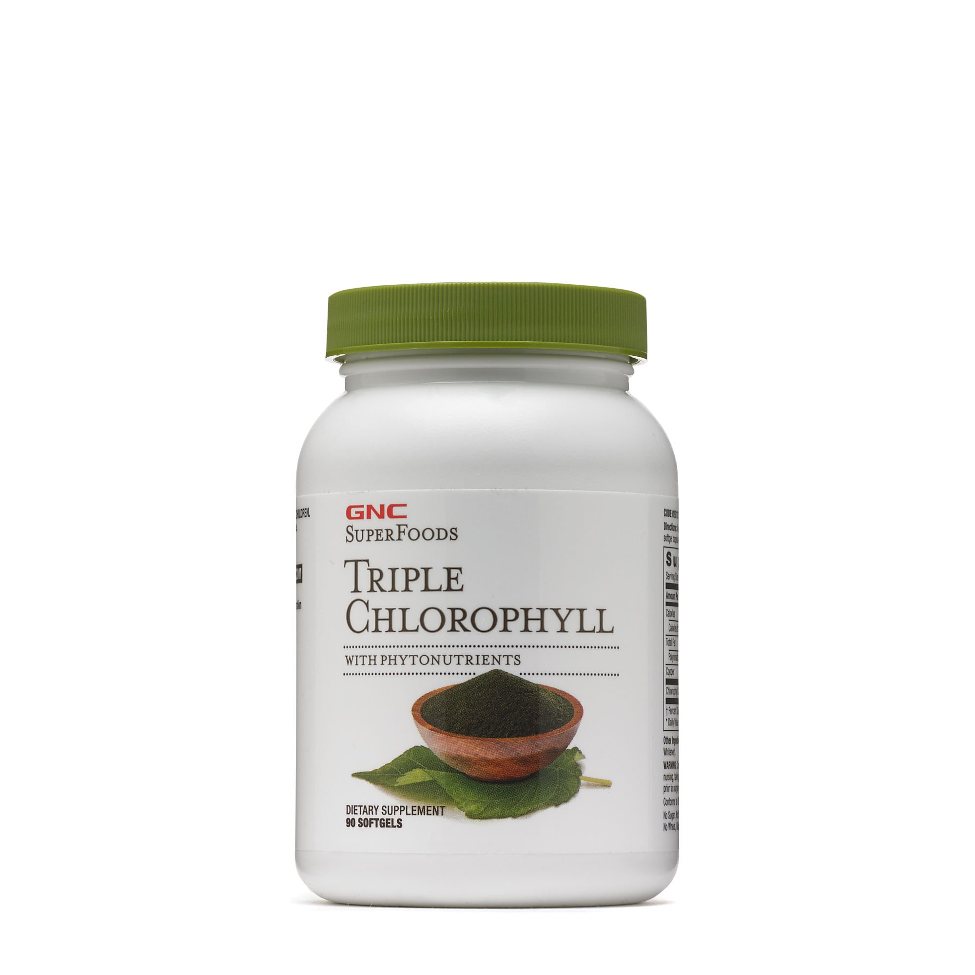 GNC Superfoods Triple Chlorophyll, 90 Softgels
