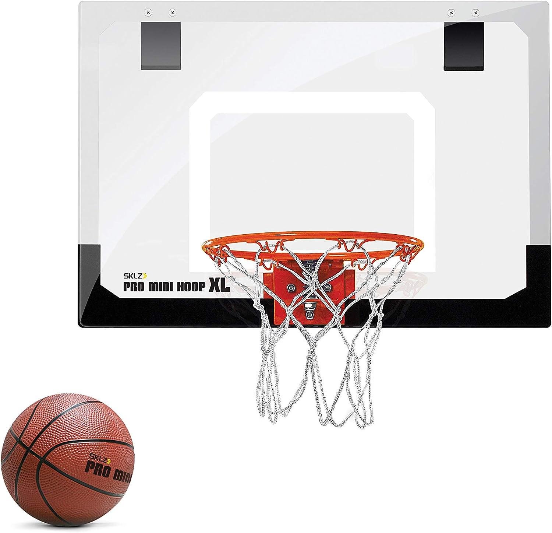 SKLZ XL Canasta Interior, Basketballkorb Pro Mini Hoop, Mehrfarbig ...