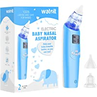 Baby Nasal Aspirator - Electric Nose Suction for Baby - Automatic Booger Sucker for Infants - Battery Powered Snot…