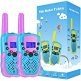 Selieve Toys for 3-14 Year Old Children's, Walkie Talkies for Kids 22 Channels 2 Way Radio Toy with Backlit LCD Flashlight, 3