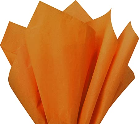 Terra Cotta Gift Wrap Tissue Paper 15 Inch X 20 Inch 100 Sheets Premium Quality Gift Wrap Paper A1 bakery supplies Made in USA