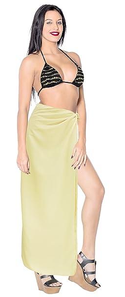138c7ebb8d2b8 Rayon Beach Bikini Long Pareo Girls Sarong Burnout Fabric 78