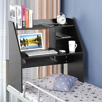 Mensola a parete da letto,Tavolo da muro Libreria a 3 ripiani con ...