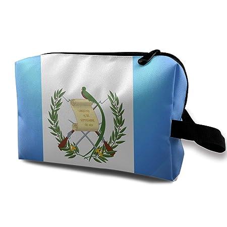 LEIJGS - Neceser pequeño con diseño de la Bandera de Guatemala y ...