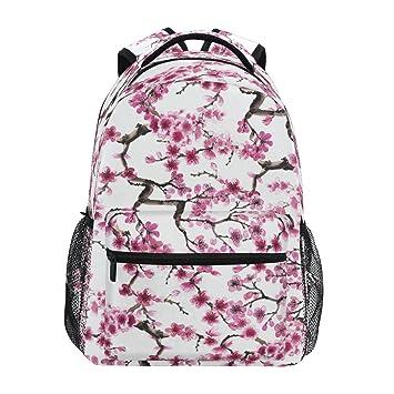 Zzkko Japonais Fleur Cherry Sacs A Dos College School Book Sac De