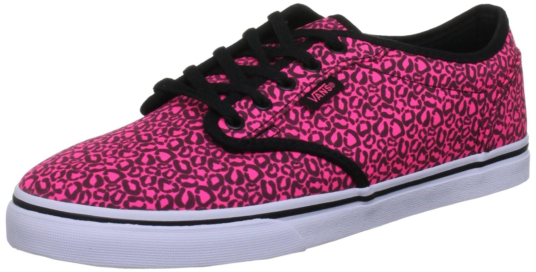 Vans Atwood Low, Damen Skateboardschuhe  40,5 EU / 7 UK|Pink (Neon Pink/Black)