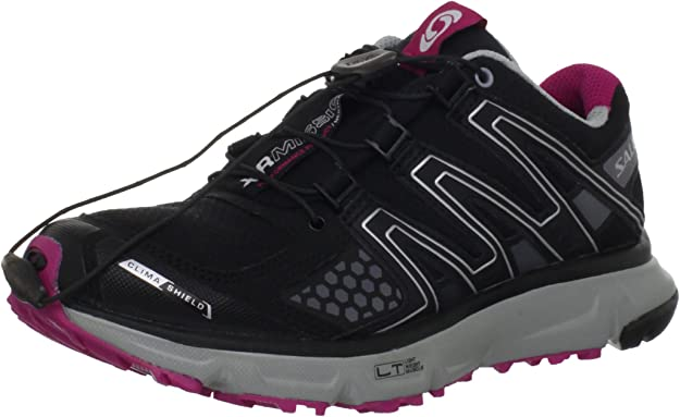 SALOMON XR Mission CS Trail Zapatilla de Running Señora, Negro/Gris/Rosa, 38: Amazon.es: Zapatos y complementos