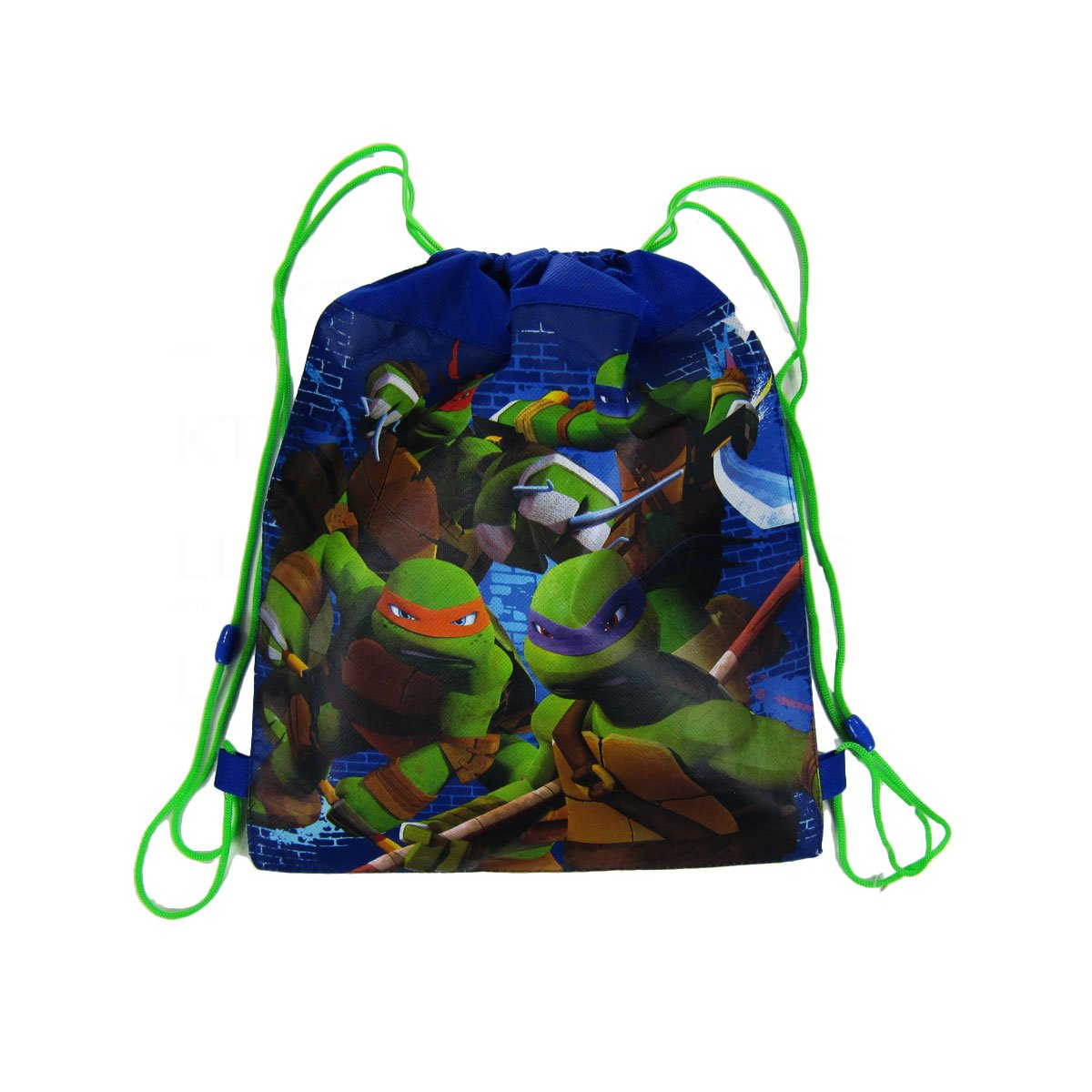 Amazon.com: Officially Licensed Nickelodeon Drawstring Bag - Teenage Mutant Ninja Turtles: Sports & Outdoors