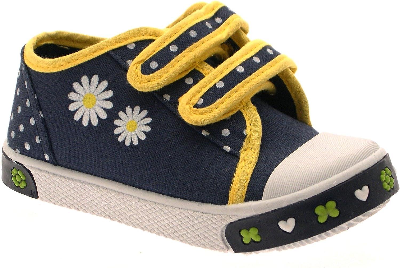 LD Outlet - Zapatillas de Sintético para niña Azul Azul Marino, Color Azul, Talla 23 EU Niño: Amazon.es: Zapatos y complementos