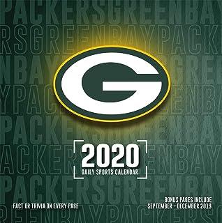 Printable Packers Schedule 2020.Green Bay Packers 2019 Calendar Lang Holdings Inc