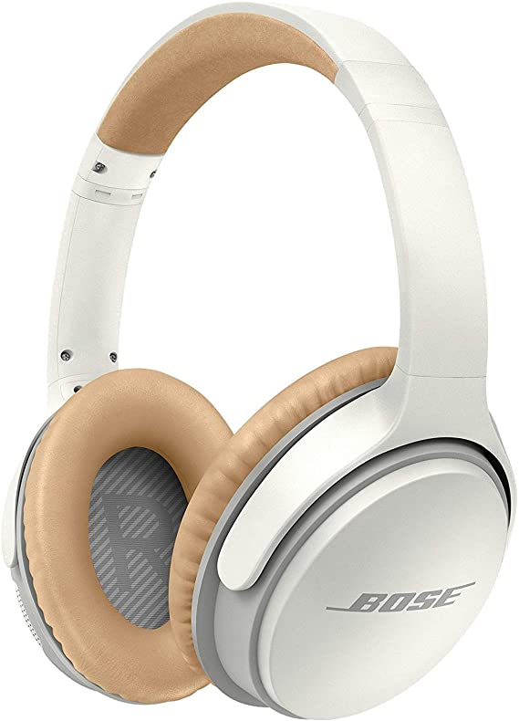 Bose SoundLink Around-Ear Wireless Headphones II (Renewed) (White)