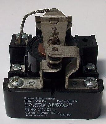 PRD-5AYO-120 Potter Brumfield Relay 120V