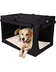 Petsfit Indoor/Outdoor Soft Portable and Foldable Travel Pet Crate/Cage