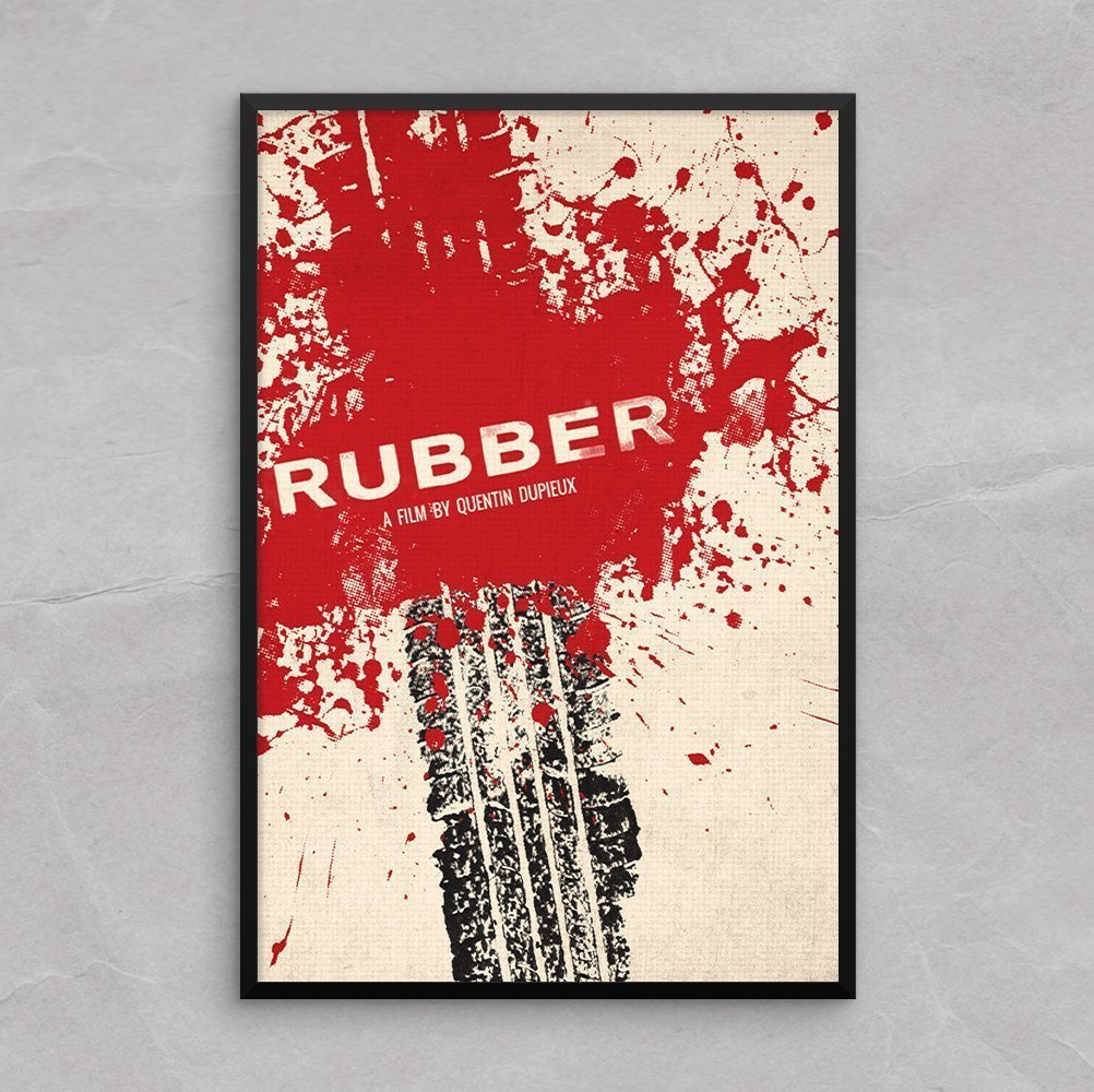 Rubber Movie Poster Art Print [13x19] film by a Quentin Dupieux