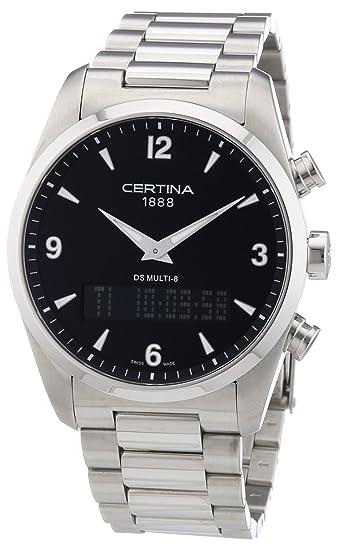 Certina Multi 8 C020.419.11.057.00 - Reloj analógico - digital de cuarzo para