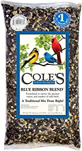 Cole's BR20 Blue Ribbon Blend Bird Seed, 20-Pound