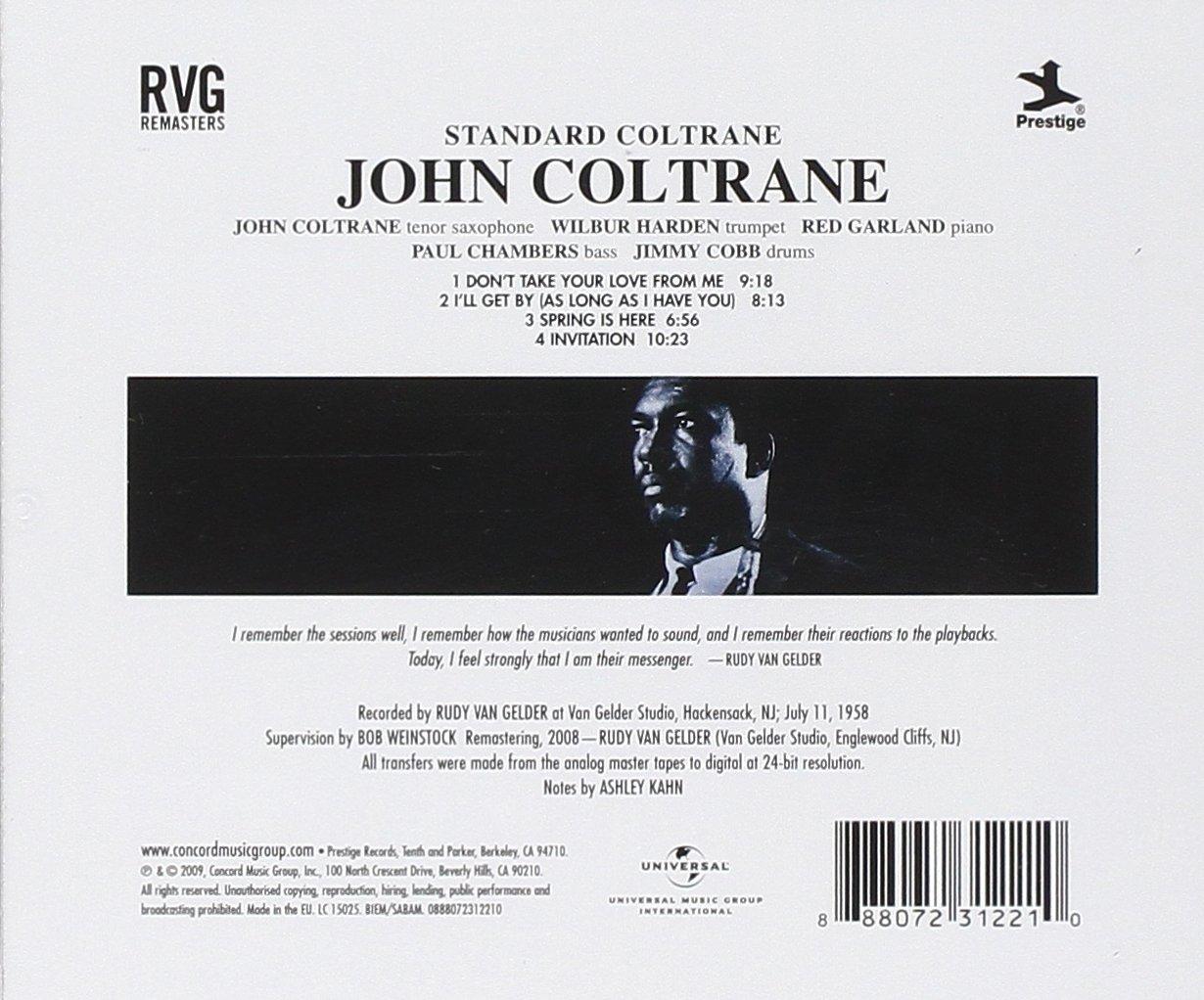 John coltrane standard coltrane amazon music stopboris Gallery