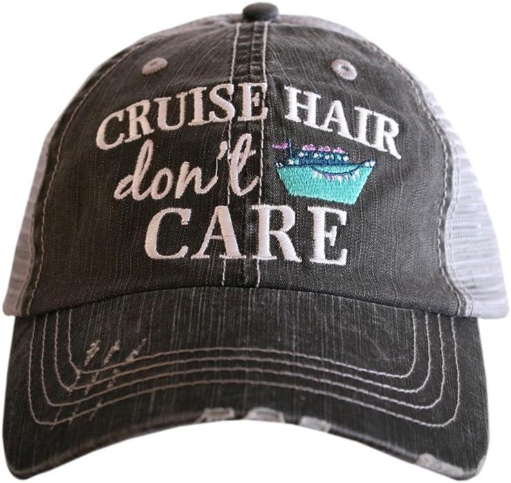 a8f64c1ab0b Katydid Cruise Hair Don t Care Baseball Hats Caps at Amazon Women s ...