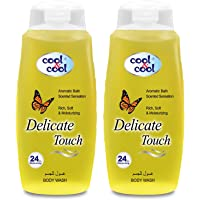 Cool & Cool Delicate Touch Body Wash , 2 x 250ml