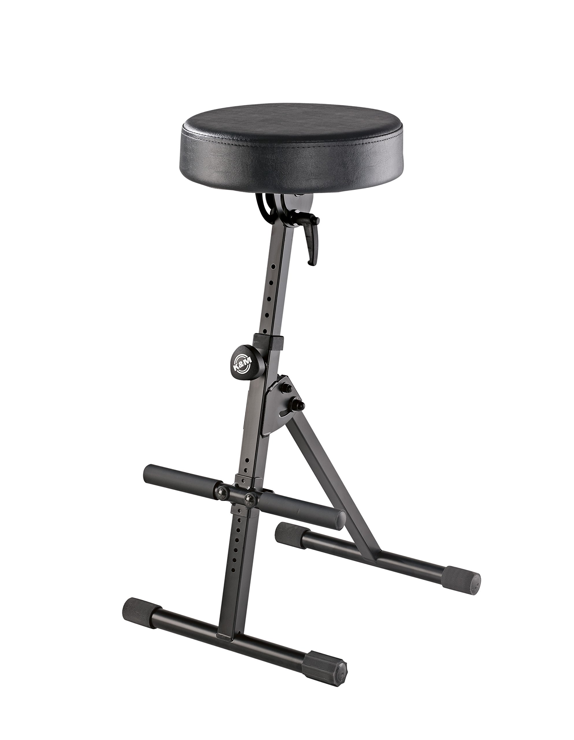 K & M Stands K & M Stool w/foot rest, black Music Stand 14060.000.55 by K&M Stands (Image #1)