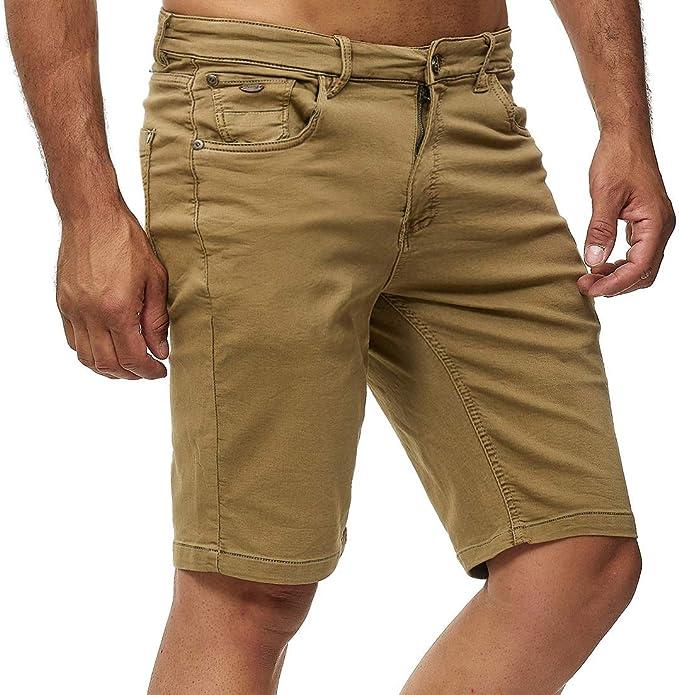 Esprit Herren Bermuda Shorts Capri Hose Freizeit Short NEU