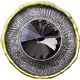 GuDeKe ユニセックス レトロ ジュエリー アクセサリー ラウンド型 ブローチ 太陽ブローチ 宝石ラペルピン