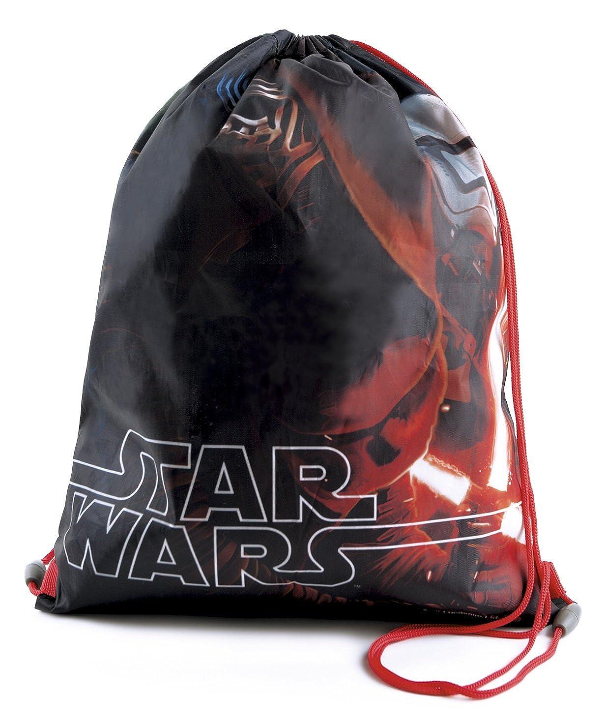 Disney Childrens Star Wars Drawstring Gym Bag