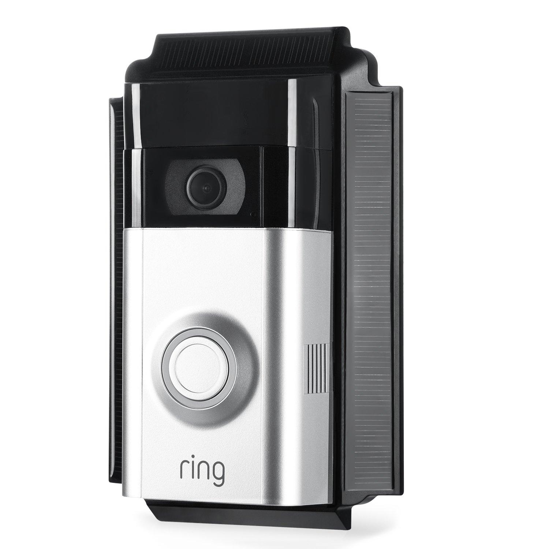Ring video doorbell 2 solar charger van storage ideas