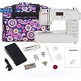 Janome DC1050 Computerized Sewing Machine Bundle with Bonus Tote Bag