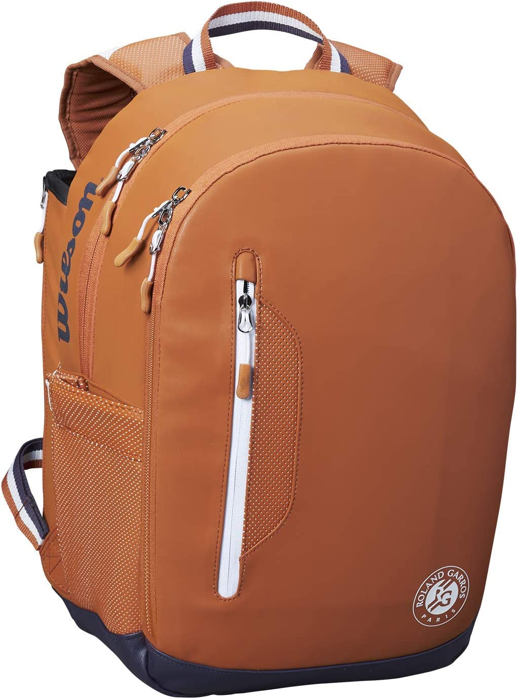 Wilson Roland Garros Tour Backpack For Up To 2 Racquets Brown Wr8006601001 Bekleidung