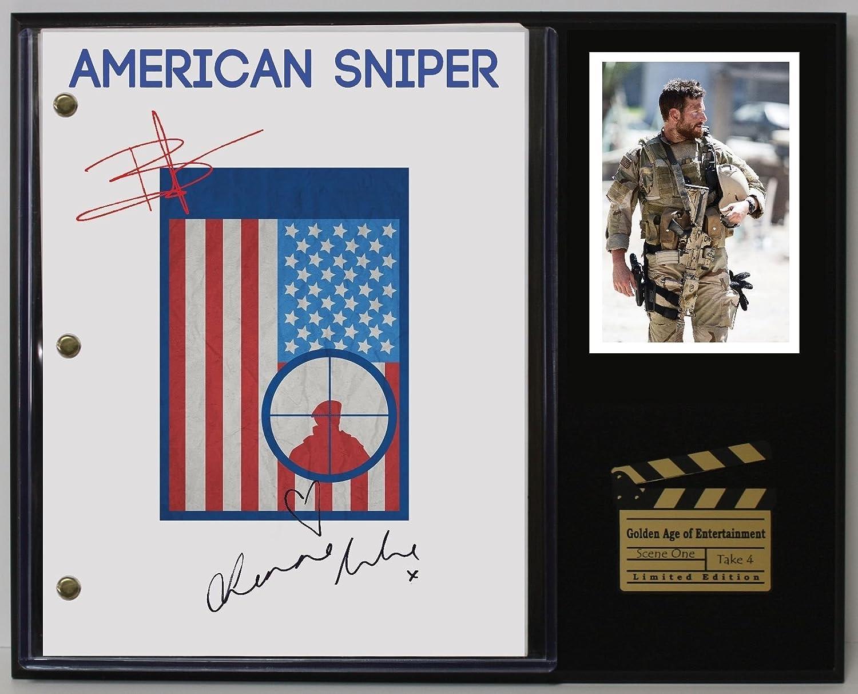 American Sniper Ltd Edition Reproduction Movie Script Cinema