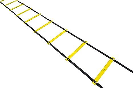 Escalera de agility antideslizante, fija Talla:4 m length: Amazon.es: Deportes y aire libre