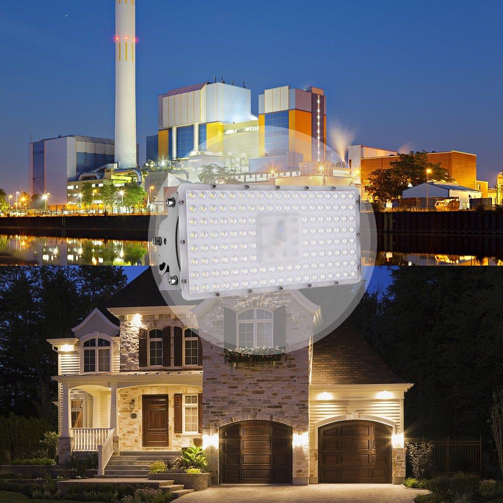 Led Flutlicht Strahler Außenleuchte] Viugreum Super Hell 200W LED ...