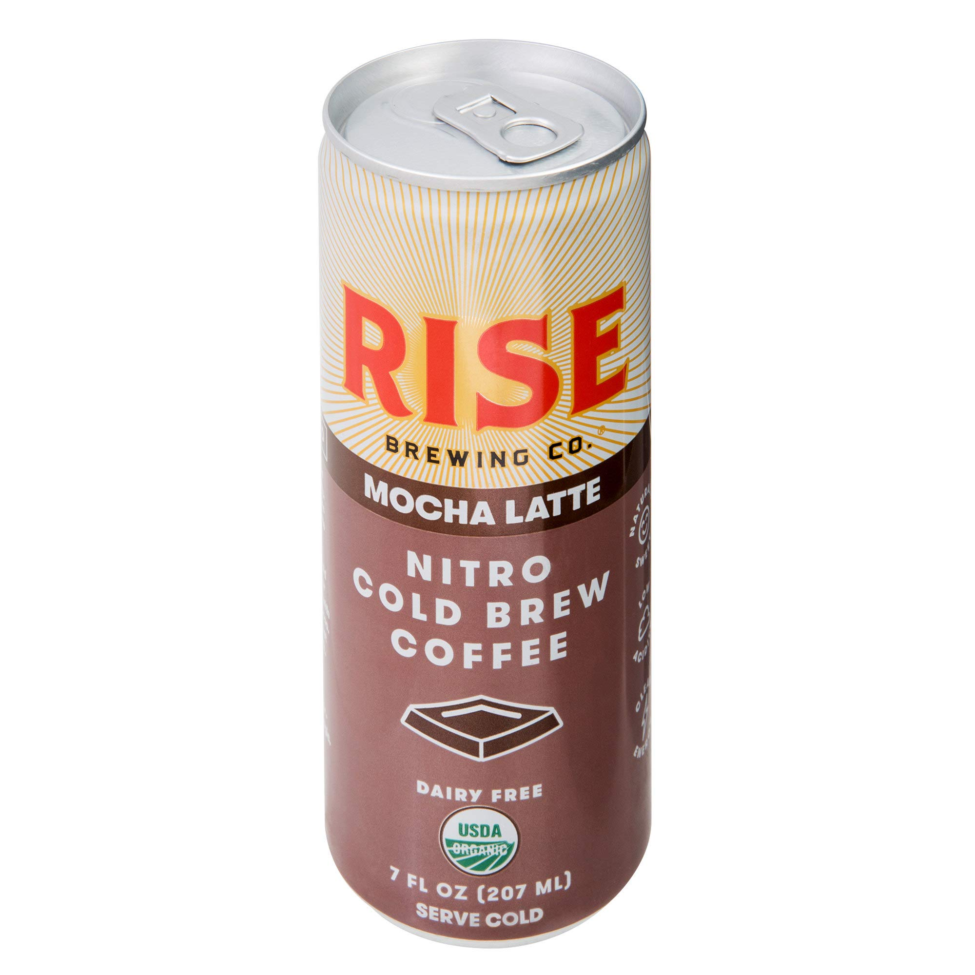 TableTop King 7 oz. Mocha Latte Nitro Cold Brew Coffee - 12/Case by TableTop King (Image #1)