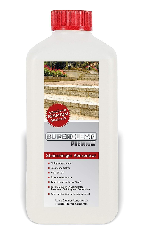 Limpiador de piedra concentrado para hasta 50 m². Se puede usar en ...
