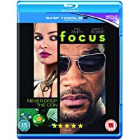Focus (Blu-ray + Digital HD + UV) (Region Free + Fully Packaged Import)
