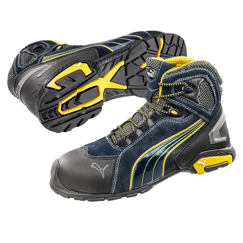 Puma 632250 - 256 - 43 Rio Zapatos de seguridad MID S3 Src, tamaño 43, Negro: Amazon.es: Bricolaje y herramientas