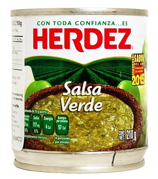 Herdez Salsa Verde 210 G