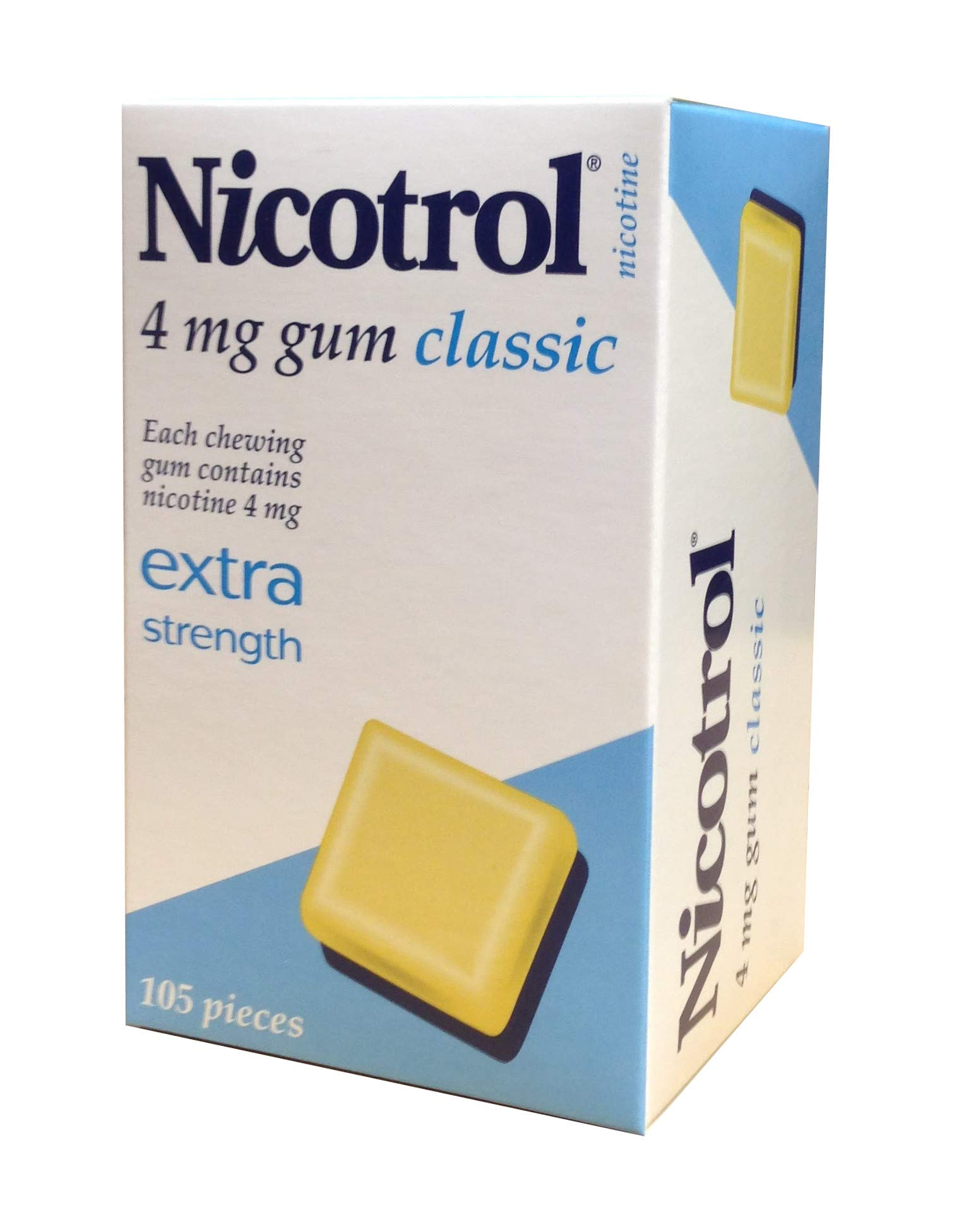 Nicotrol Nicotine Gum 4mg Classic