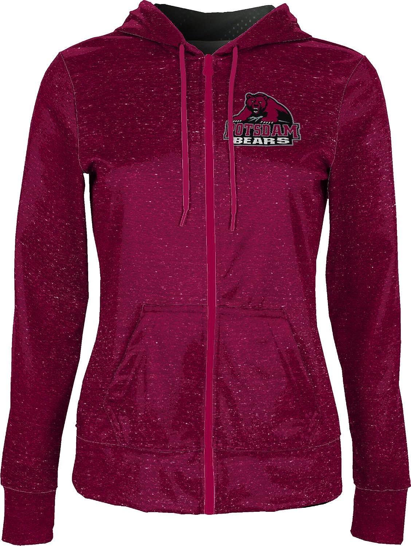 State University of New York at Potsdam Girls Zipper Hoodie Heather School Spirit Sweatshirt