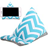 Plinrise Multifunctional Iphone Bed & Lap Stand, Bean Bag, Universal Phone Holder, Soft Mounts For Smartphones, Best Gift To Friends And Families (Stripe Blue)