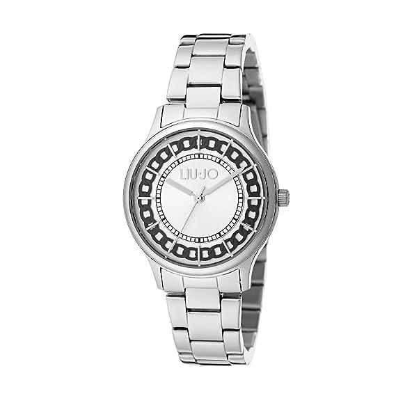 Orologio Donna Aurelia Silver TLJ1129 - Liu Jo Luxury  Amazon.it ... 8be74de5af4