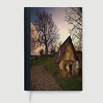 Amazon Com Rustic Home Decor Case Bound Notebook Battered Stone