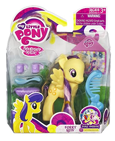 My Little Pony Basic Figure Sunny Rays Wedding Series