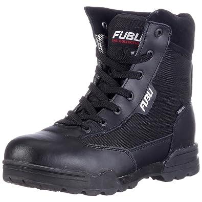 1c7c29b056a4 FUBU Men s Alaska Boots Black Size  7  Amazon.co.uk  Shoes   Bags