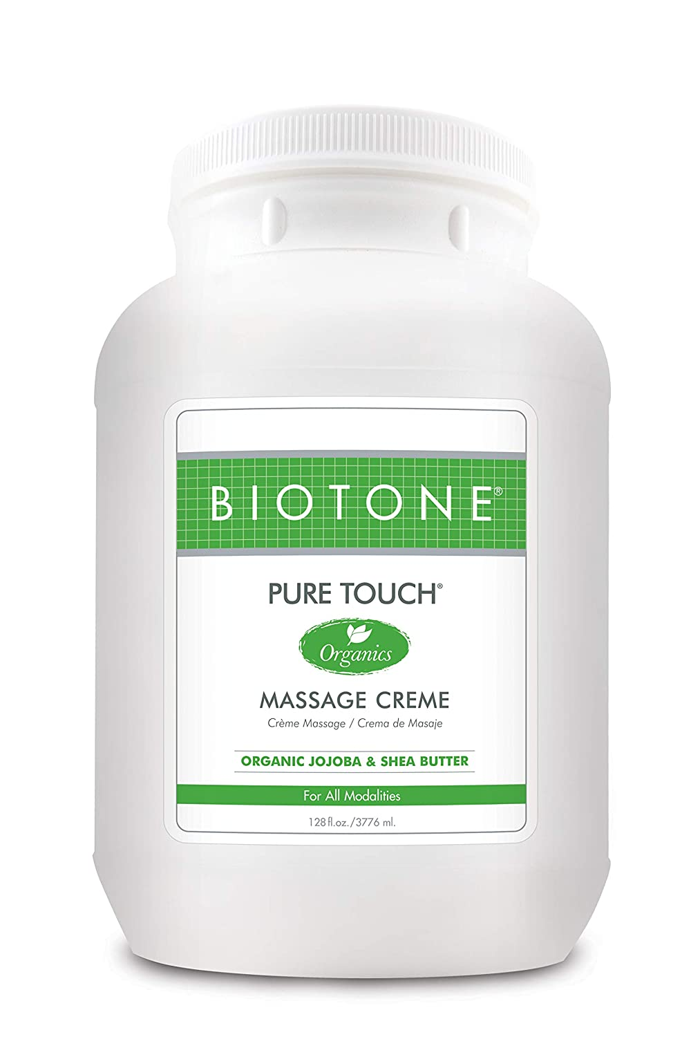 Biotone Pure Touch Organics Massage Creme - 1 Gallon