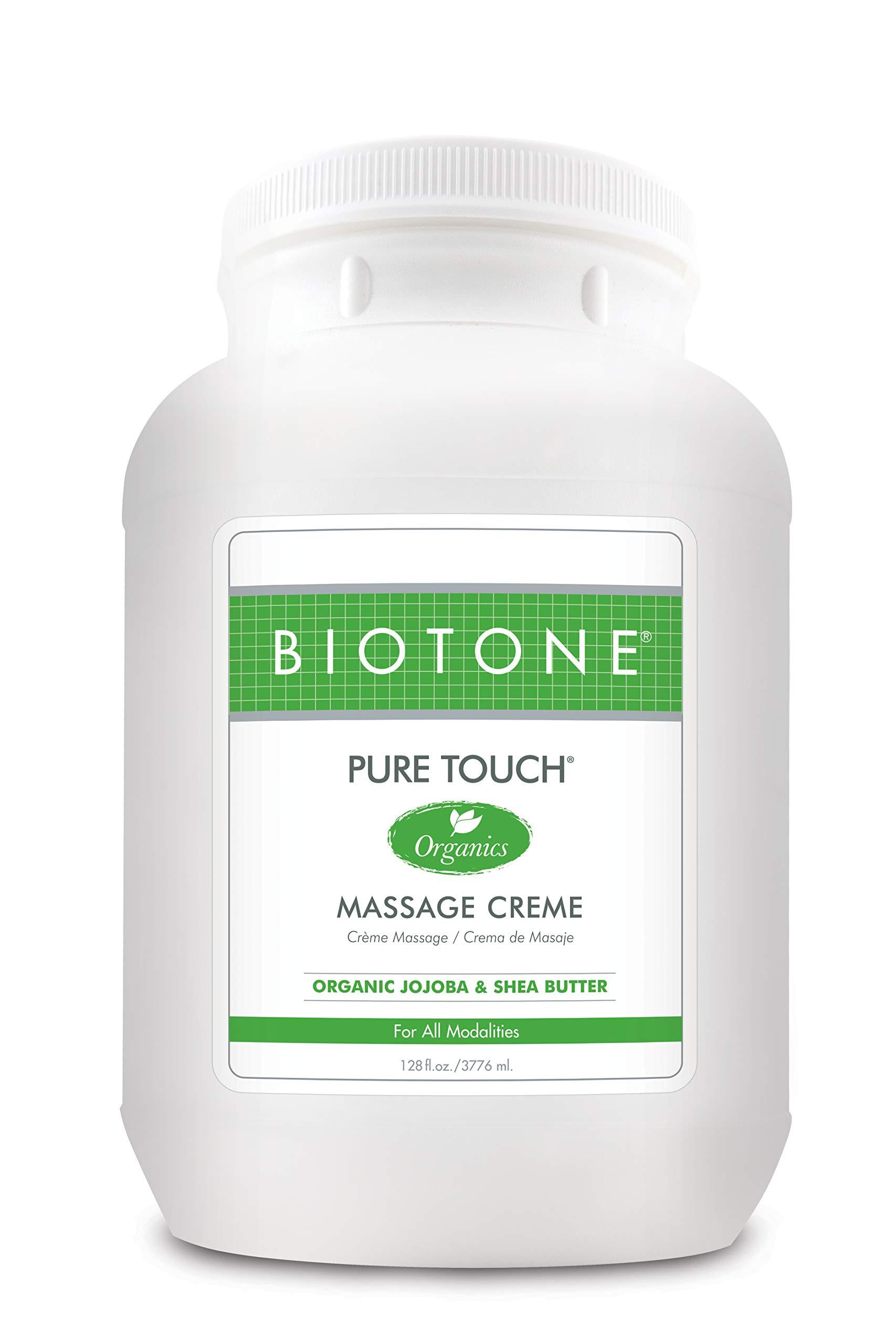 Biotone Pure Touch Organics Massage Creme - 1 Gallon by Biotone