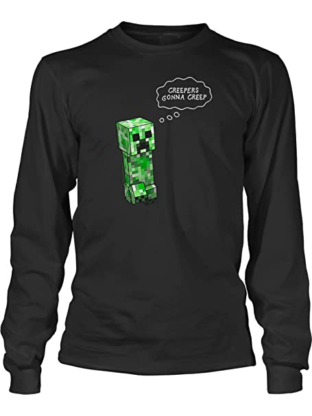 Amazoncom JINX Minecraft Big Boys Creepers Gonna Creep Long - Minecraft top hauser