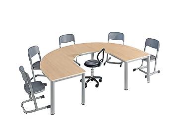 Durchschnittliche Tischhöhe hufeisentisch lipizaner b t 200 cm x 140 cm tischhöhe 58 cm